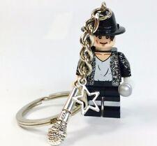 Michael Jackson Charm Keyring, Michael Jackson Figure Keyring, Gift Bag, Xmas