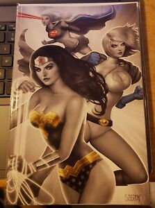 Tales From The Multiverse Infinite Crisis 1 Nathan Szerdy Comics Elite exclusive