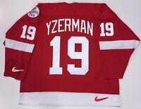 STEVE YZERMAN DETROIT RED WINGS NIKE 1998 STANLEY CUP JERSEY SIZE XL