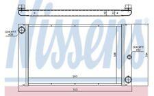 NISSENS Radiador, refrigeración del motor BMW Serie 5 7 60762