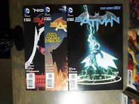 BATMAN 3 Book lot #9,11,12 New 52 - 1st print  D.C Comics Snyder/Capullo NM 2012