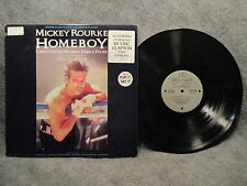 33 RPM LP Record Original Motion Picture Sound Track Homeboy 1988 Virgin 91241-1