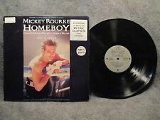 33 RPM LP Record Original Motion Picture Sound Track Homeboy 1988 Virgin 91241-1