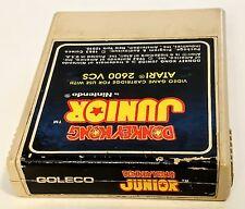 DONKEY KONG JR ATARI 2600 GAME CARTRIDGE DK JUNIOR
