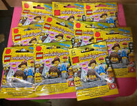 NEW Lego Minifigures Series 12 Sealed Lot of 10 Blind Bags
