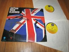 BRITISH ROCK CLASSICS - VARIOUS ARTISTS - SIRE RECORDS DOUBLE LP