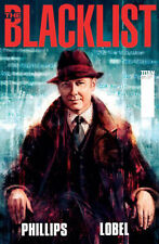 NBC'S THE BLACKLIST #1 A ART COVER TITAN COMICS JAMES SPADER TV SERIES 1ST PRINT