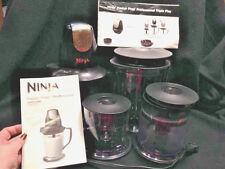 NINJA MASTER PREP PROFESSIONAL TRIPLE PLAY QB1005 BLENDER/CHOPPER 10 PC