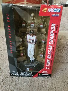 Dale Earnhardt 7-Time NASCAR Champion Action Figure Deluxe Box Set with Trophies