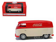 1962 VOLKSWAGEN PANEL VAN BUS MINIVAN DRINK COCA COLA RED/CREAM 1/43 MCC 439827