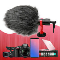 Interview Mic Shotgun Condenser Video Microphone for DSLR Camera & Smartphones