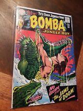 BOMBA THE JUNGLE BOY #1 (DC 1967) VF - NM