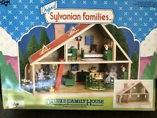 Sylvanian Families Calico Critters Vintage Deluxe House Rare NEW in Box
