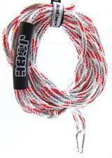 Jobe 2 Personen Zugleine weiß-rot Tow Rope Towables Tube Seil Zugseil Towrope