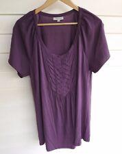 Autograph Women's Purple Short Sleeve Top - Size 14