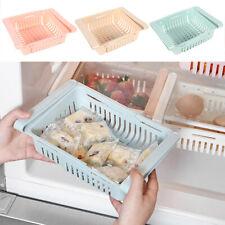 3x Kühlschrank Organizer Klemmfach Schubladenkorb Aufbewahrungskorb Kühlschrankk