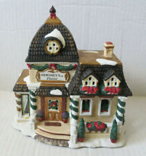 2001 Hershey Holiday Village Florist Shoppe With Box Limited Edition (L-D)