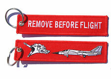 RAAF 6 Squadron F-111 Remove Before Flight Key Ring Luggage Tag