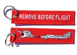 RAAF 6 Squadron F-111 Remove Before Flight Key Ring Luggage Tag