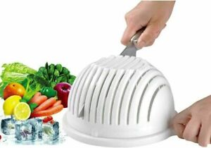 Vegetable Fruit Chopper Multifunctional All In One Salad Cutter Bowl 3 in 1