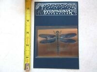 Dreamweaver Metal Stencil Dragonfly Lynell Harlow Embossing Stenciling