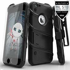 iPhone 6s Plus Case Military Armor Kickstand with Screen Protector Holster Clip
