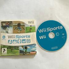 Wii Sports / Disc & sleeve / Nintendo Wii Game / PAL