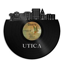 Utica New York Vinyl Wall Art Cityscape Travel Souvenir Gift Room Decoration