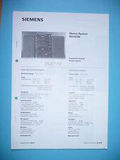 Service manual manual for Siemens RS 157 ,ORIGINAL