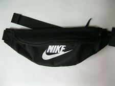 Nike Heritage Hip Pack Black Summer Travel Waist Fanny Men Women Small Items Bag