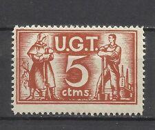2338-SELLO GUERRA CIVIL U.G.T. 5 CENTIMOS NUEVO** mnh republica España