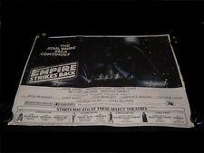1980 NEW YORK SUBWAY Star Wars EMPIRE STRIKES BACK Darth Vader Style LINENBACKED