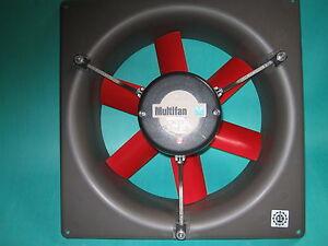Multifan Stall Ventilator mit Rahmen 4 E 35 Q ohne Gitter 230 Volt