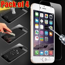 4 X Genuine Tampered Glass Film Screen Protector For Apple iPhone 6/6S Plus