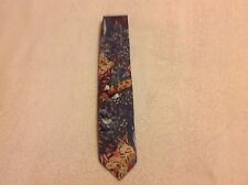 Tie Jungle Animal Print preppy by j.b.  Made in usa Men's Career Business Casual