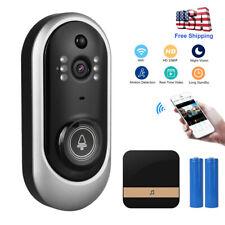 Smart Wireless Phone Door Bell Camera Video Intercom Ring Doorbell Home Security