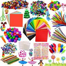 Arts and Crafts for Kids, Creative Craft DIY Art Supplies, Includes Glitter