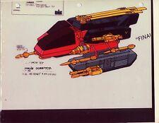 "G.I. Gi Joe Destro's Dominator Model Cel ""Photo"" 80-90's Cartoon 1990 Dic"