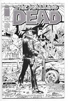 Walking Dead #1 - NYCC 2013 10th Anniversary BLACK & WHITE VARIANT - NM