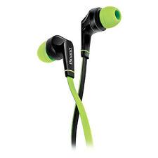 ISOUND em-60 Auriculares internos con micrófono y Volumen tanglefree Cable