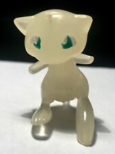 Anniversary Tomy Pokemon Mew Figure Rare Clear Glow In The Dark 1st Generation