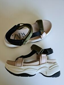 ZARA Sporty Sandals - Size 4/37