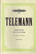 Telemann - Kantate Gott sei mir gnädig für Soli, Chor und Orchester