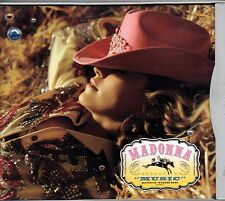 MADONNA CD SINGLE 9 tracce MUSIC made in USA 2000 +  REMIX stampa AMERICANA