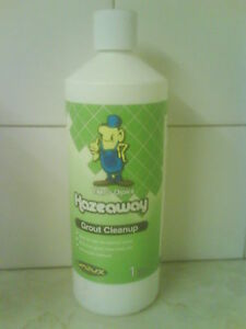 GROUT CLEAN-UP SOLUTION - HELPS REMOVE GROUT HAZE!