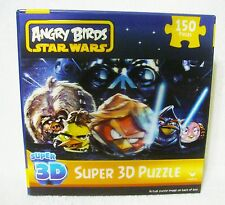Angry Birds Star Wars Super 3D Jigsaw Puzzle Rovio 150 Pieces NIB