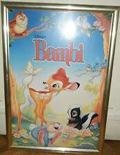 BAMBI - Affiche encadrée -