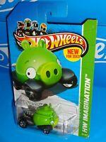 Hot Wheels 2012 New Models #35 Angry Birds Minion 2013 HW Imagination Board