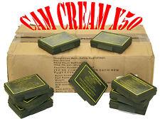 Job Lot British Army MTP Camo Face Paint (Cam Cream) W/ Mirror + 3 Colours x50
