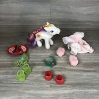 2002 G3 My Little Pony MLP Sunny Daze Rainbow Celebration With Accessories